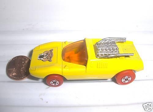 Lesney Matchbox 1971 MB1B MOD ROD RED WHEELS WHEELS WHEELS WILDCAT LABEL Car Mint No Box 0de4c7