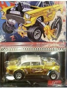 Hot-Wheels-RLC-Selections-Dirty-Blonde-55-Chevy-Bel-Air-Gasser-In-Hand