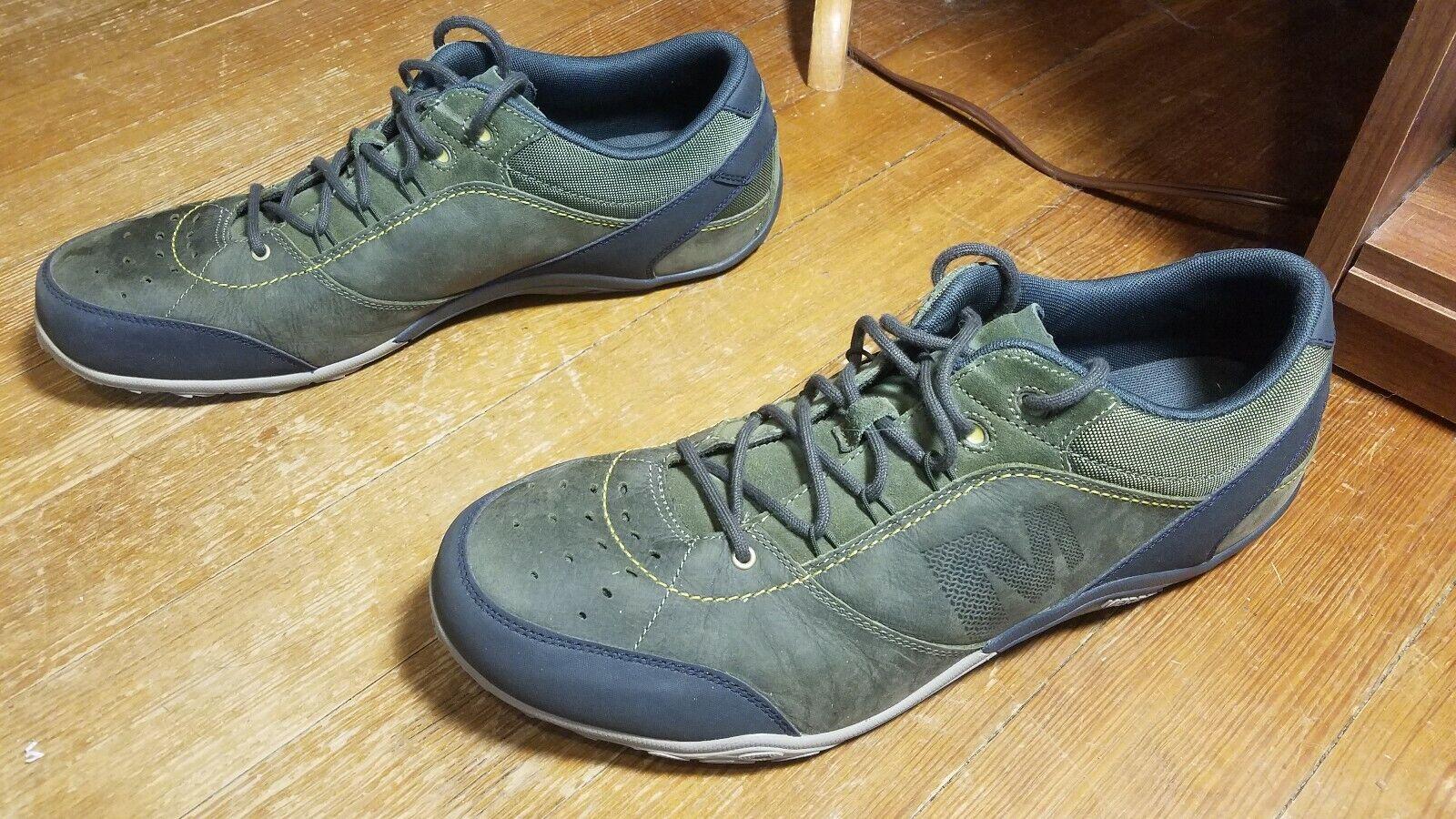 Merrell Homme Chaussures De Sport Taille 15 Baskets Olive foncé couleur sonore