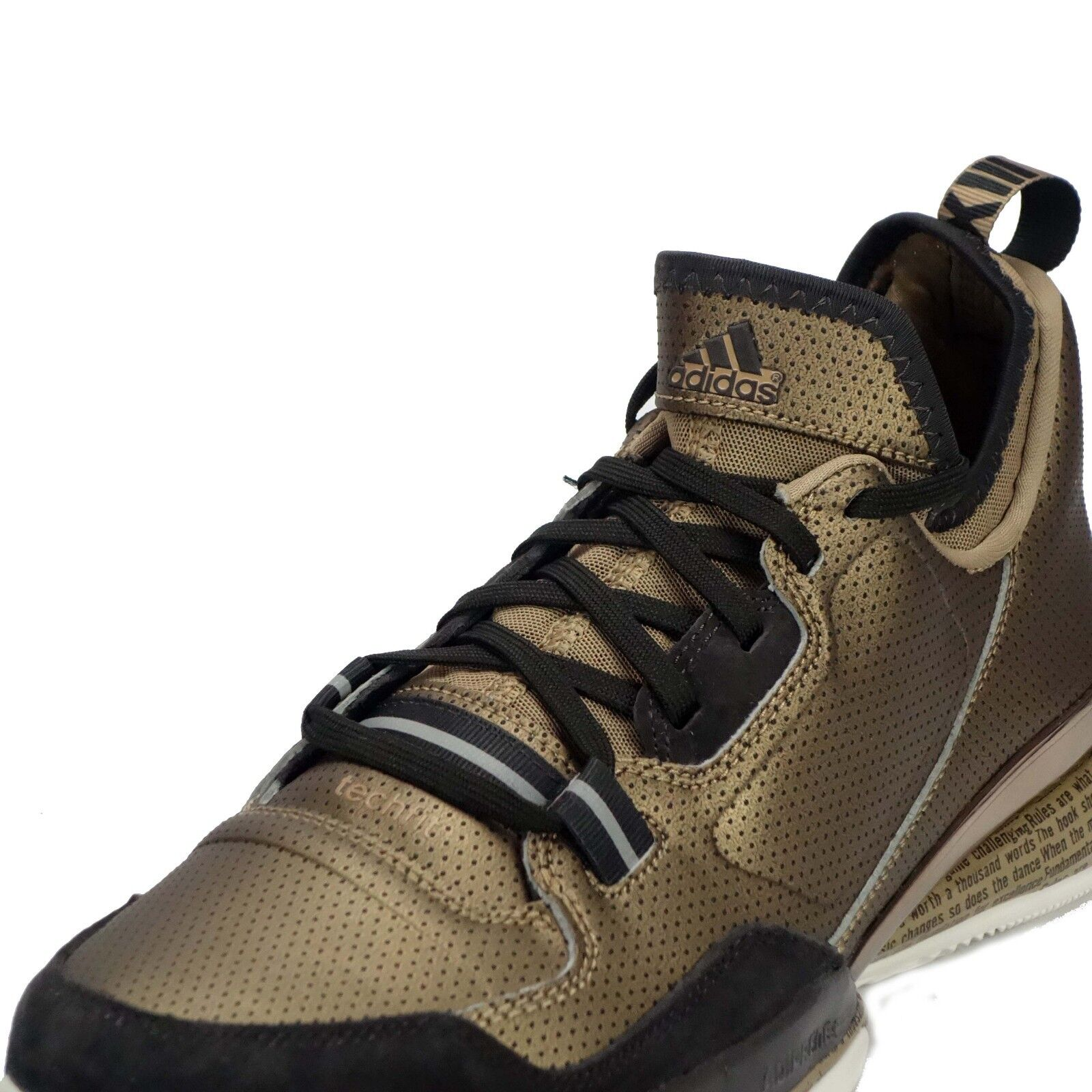online store b7a42 b133b ... get adidas d lillard bhm bhm bhm mens basketball trainers shoes in brown  f4a439 e05ab 30d3d