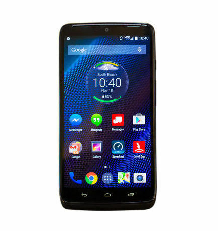 Motorola Droid Turbo (Latest Model) - 32GB - Black Ballistic Nylon (Verizon)...