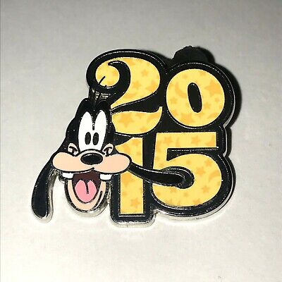 Disney Parks 2015 Dated Booster Goofy Disney Pin 107584