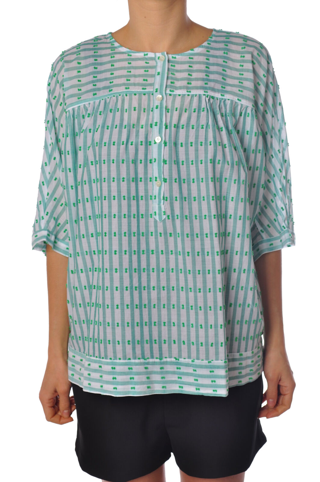 Ottod'ame  -  Shirt - Female - Weiß - 1915616A183544