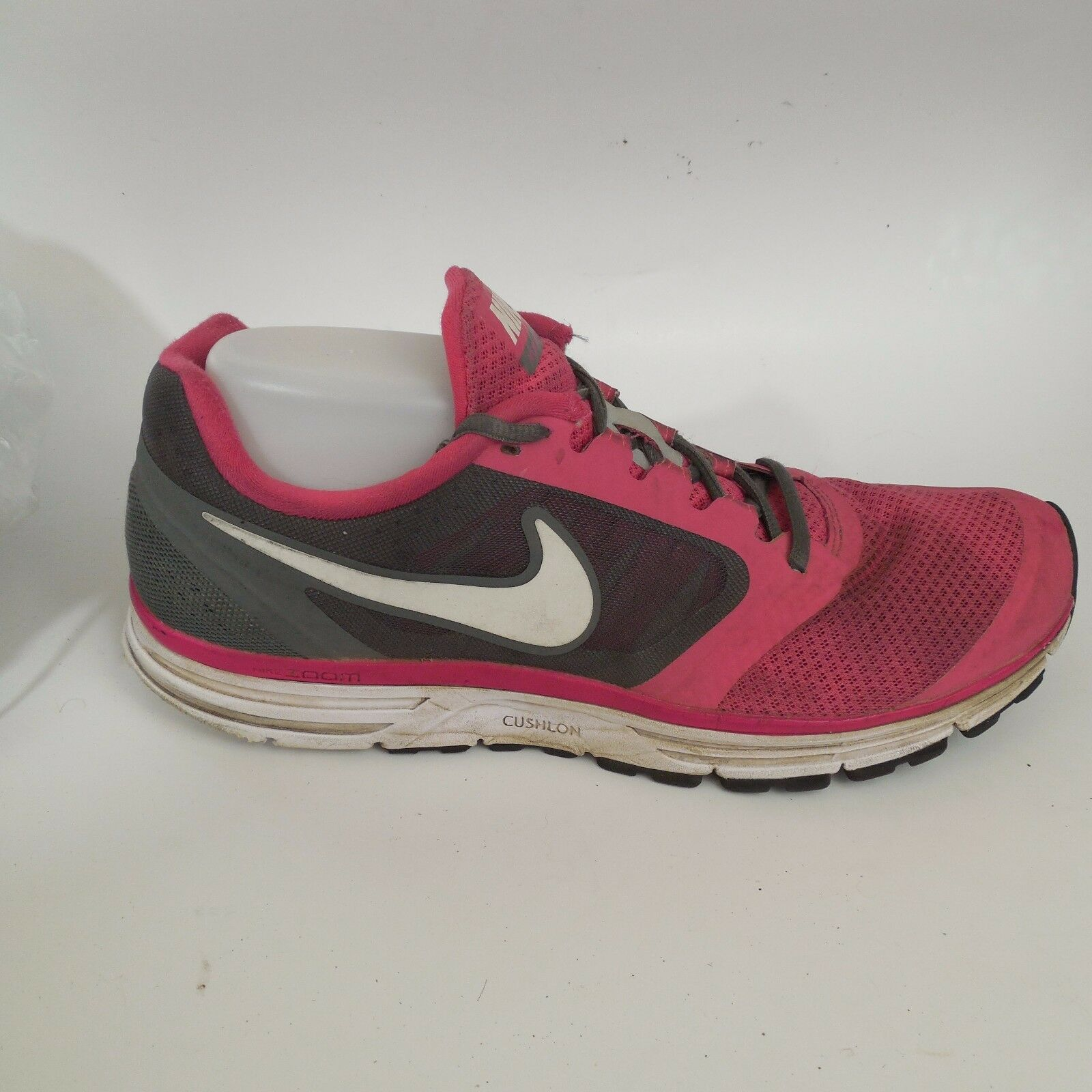 premium selection 1d9c2 79375 ... Womens Womens Womens Nike Vomero 8 Size 11.5 Med Pink Black Sneakers  582894 610 Preowned Shoes ...