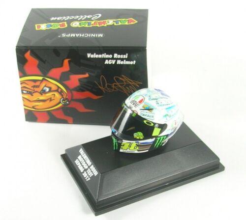 AGV Helmet Valentino Rossi MotoGP Test Sepang 2017