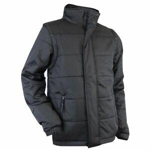 New Stand Taglia Collar Black Brand Jacket L up Lma Coat Quality gw8W1