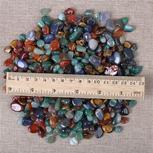 Wholesale-200g-Bulk-Tumbled-Stones-Mixed-Agate-Quartz-Crystal-Healing-Mineral