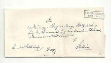 Pr Vor / STARGARD i POM, Ra2 auf Kabinett-Kult-Brief