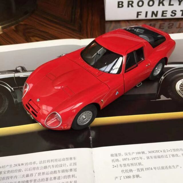 1965 ALFA ROMEO Tz2 In Red By AUTOart 70198 For Sale