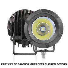 Super Bright 4 Inch Cree Led Fog Lights Off Road Tractor 12v 24v Bull Bar Combo
