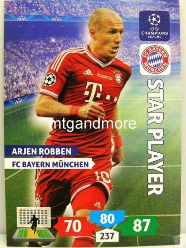 star player choisir ADRENALYN xl ligue des champions 13//14