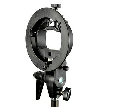 Godox Adjustable Pro S-Type Bowens Mount Bracket Holder All-in-One