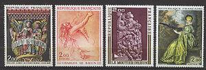 FRANCIA-FRANCE-1973-MNH-SC-1359-1362-Fine-Art
