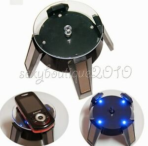Solar Energy Powered Rotating Turntable Jewellery Mobile