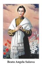 "OLD nice rare Holy cards ""H7265"" san beata angela salawa"