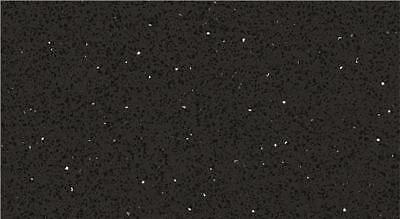 Black Quartz Mirror Fleck Stardust
