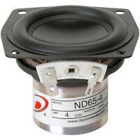 Dayton Audio Nd65-4 2-1/2 Aluminum Cone Full-range Driver