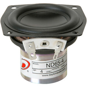 Dayton-Audio-ND65-4-2-1-2-034-Aluminum-Cone-Full-range-driver