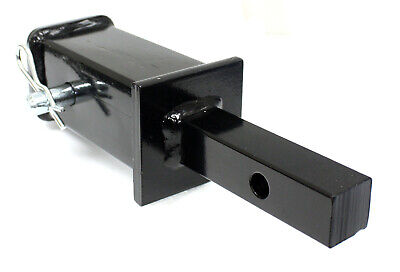 Tow Hitch Adaptor Reducer 2 to 1-1//4 Safety Hitch Pin