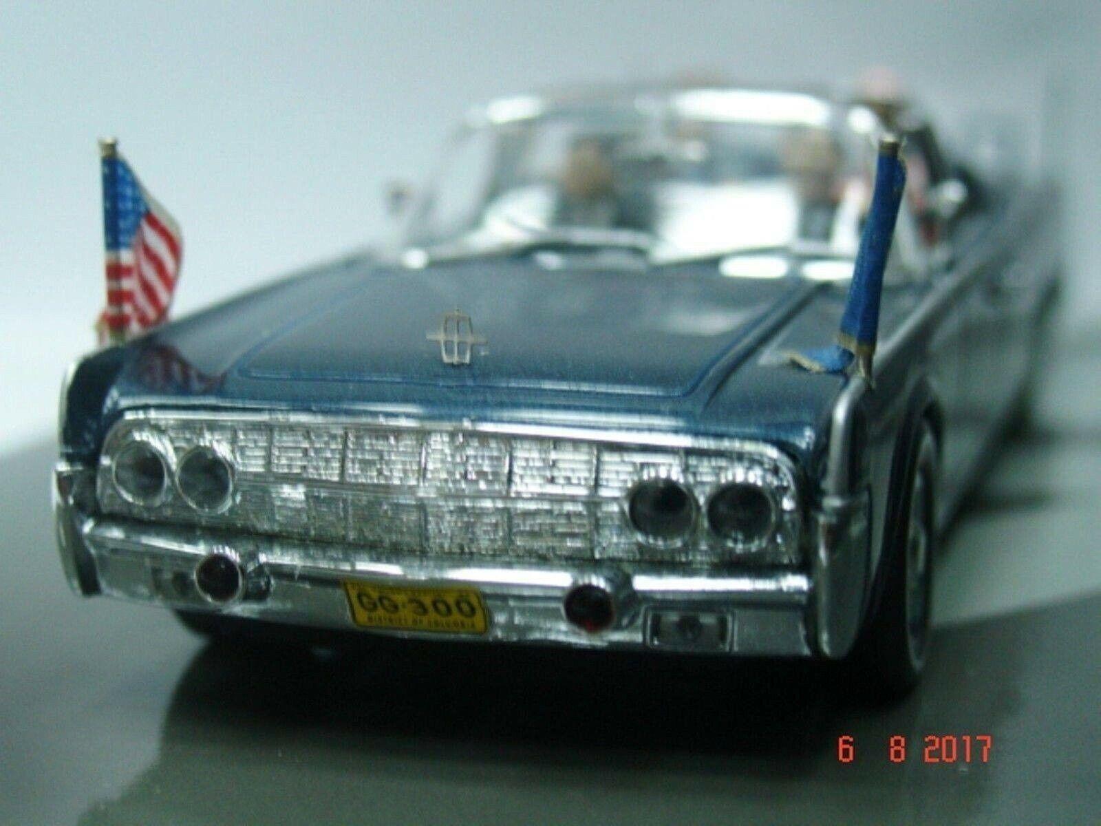 WOW estremamente raro Lincoln Continental X-100 Kennedy Dallas 1963 1:43 Minichamps