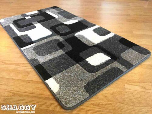 160x220 cm Teppich 196 Grey Konturenschnitt Formen Grau NEU OVP