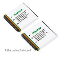 2x Kastar Battery for Kodak KLIC-7001 EasyShare M1073 V550 V570 V610 V705 V750
