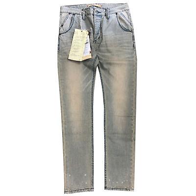 Mustang Jeans Da Donna Pantaloni Stretch Tubo Bleached W28 L34 Nuovo-mostra Il Titolo Originale Tempi Puntuali