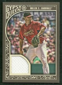 SHELBY-MILLER-2015-TOPPS-GYPSY-QUEEN-GAME-USED-JERSEY-ST-LOUIS-CARDINALS