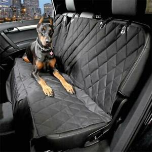 Nonslip-Pet-Car-Back-Seat-Cover-Cat-Dog-Waterproof-Protector-Hammock-Mat-Black