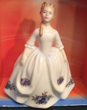 """Royal Doulton Figurine HN3483 """"moonlight Rose"""" 1992  (By Peggy Davies).    (563)"""