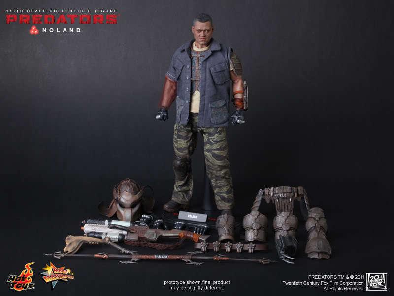 Hot Toys - Predators Noland - 12  1 6 6 6 Scale Figure (MMS 163) NEW    aafa2a