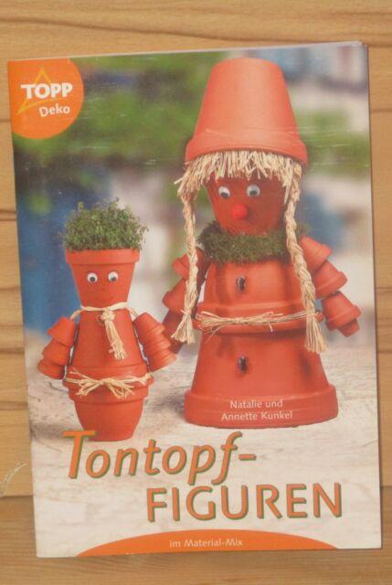 Tontopf-Figuren im Material-Mix, Band 2999 von Annette Kunkel (2002, Geheftet)