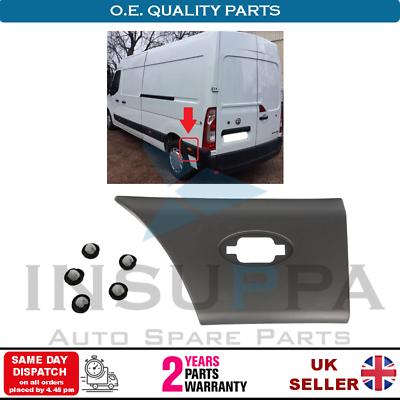 Moldeo recorte del Panel Trasero Lado Izquierdo Para Opel Vauxhall Movano B Renault Master MK3