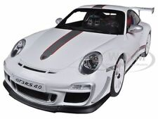PORSCHE 911 (997) GT3 RS 4.0 WHITE 1/18 DIECAST MODEL CAR BY AUTOART 78147