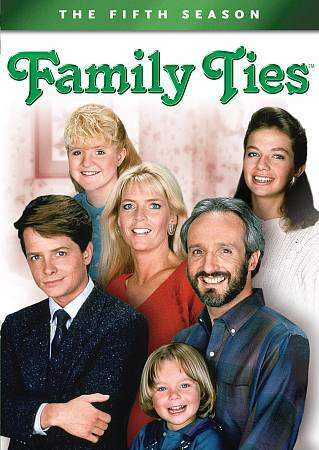 Family Ties - The Fifth Season (DVD, discs 1 & 2 only), no case, FREE SHIPPING!!