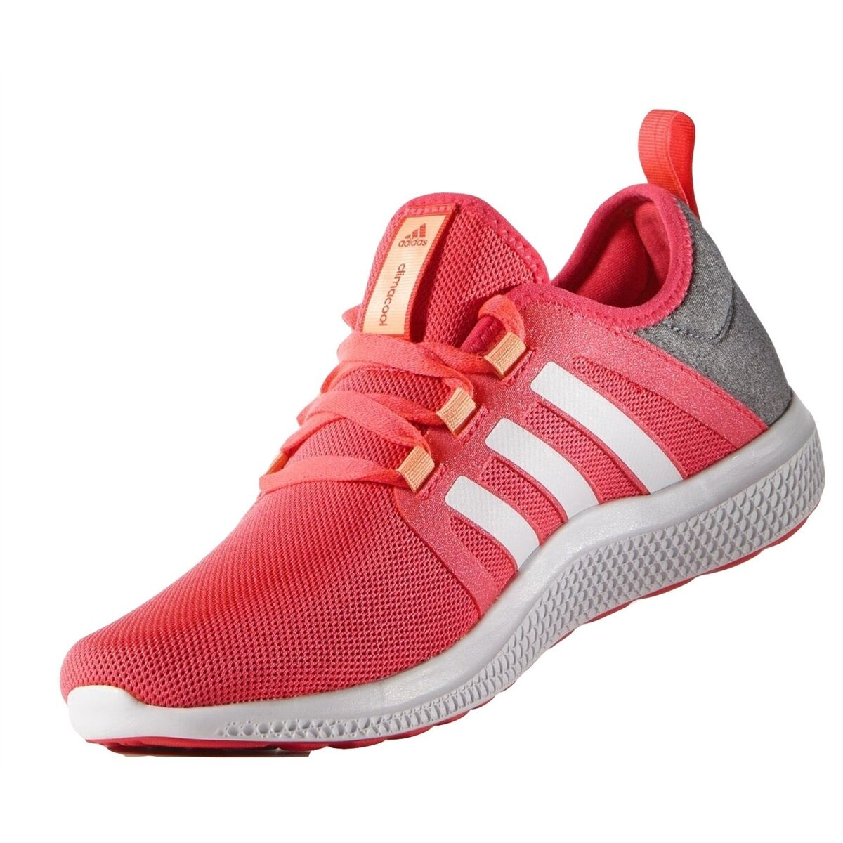 Adidas Women Athletic Shoes Fresh Bounce W Prints Running Shoes Core Heather