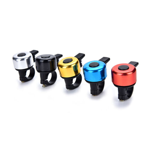 Bike Cycling Bicycle Handlebar Copper Ring Bike Bell Horn Sound Alarm Bell FT