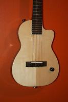 Mim: Pono Tenor Deluxe Solid Body Te-sd All Solid Spruce/ Acacia Ukulele 051