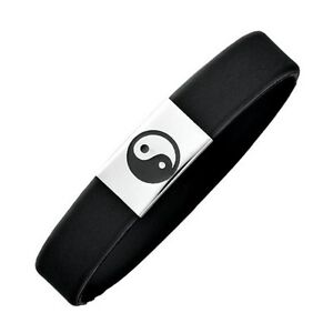 Magnetix-Armband-2010-034-Kautschuk-Yin-Yang-034-Magnetschmuck