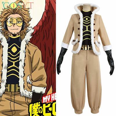Details about  /Hawks Boku no Hero Academia Cosplay Costume Keigo Takam Full Set