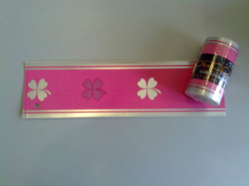 1,59€//m Tapete 3556-01 Borte Bordüren Barock Biedermeier Landhaus Pink Modern 5m