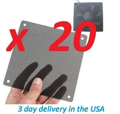 D3 4 PCS 120mm Black PVC PC Fan Dust Filter Cleanable filter Antminer S9 L3
