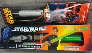 Star Wars Electronic Lightsaber Choose from Luke Skywalker or Darth Vader