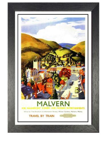 Malvern C Railway Old Advert Poster Victoria Photo Beautiful View Holiday Photo