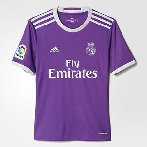Official Adidas 2016 2017 Real Madrid Kids Junior Boys Away Football ... 49611bfd9