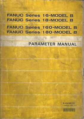 Fanuc 16i-model B 18i-model B 160i-model B 180i-model B Parameter Manual