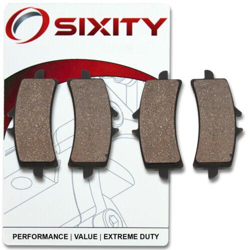 Front Organic Brake Pads 2012-2014 Suzuki GSX-R1000 Set Full Kit L2 L3 L4 wy