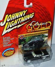 Classic Gold - 1957 STUDEBAKER GOLDEN HAWK - black 1:64 Johnny Lightning