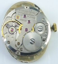 Girard - Perregaux Wristwatch Movement - Signed Crown - Sold for Parts / Repair
