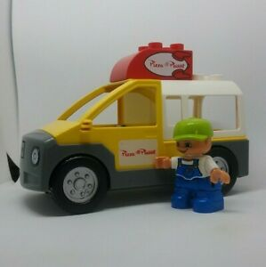 Lego-Duplo-Disney-Toy-Story-5658-Pizza-Planet-Delivery-Truck-3-pc-and-Young-Boy